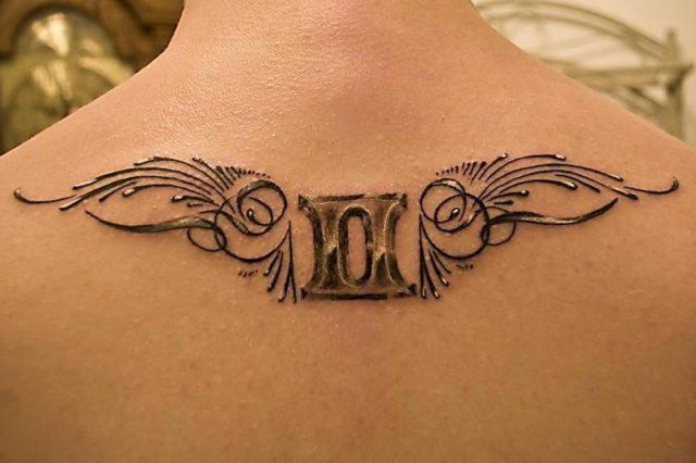 Gemini Tribal Tattoo Ideas