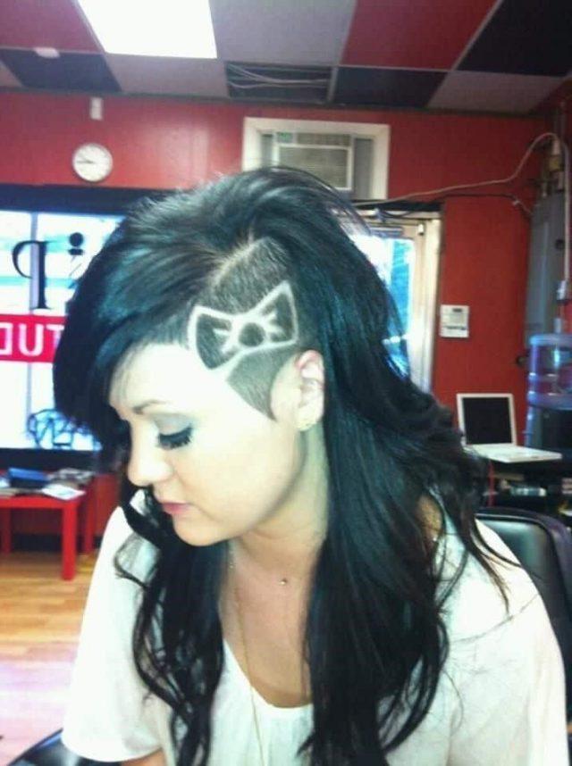 Good Head Hair Tattoo Design Photos