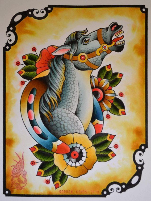 Gordon Combs Art Work Rebels Tattoo Portland USA 010