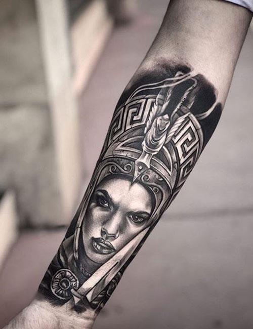 Greek Mythology Tattoos On The Forearm 1