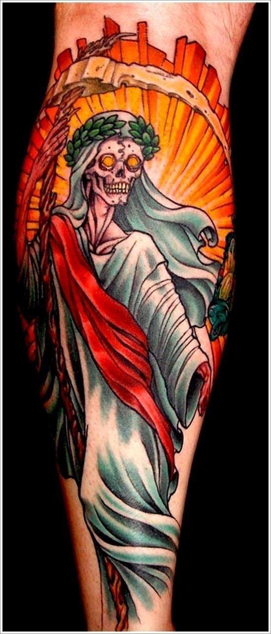 Grim Reaper Tattoo Designs 12