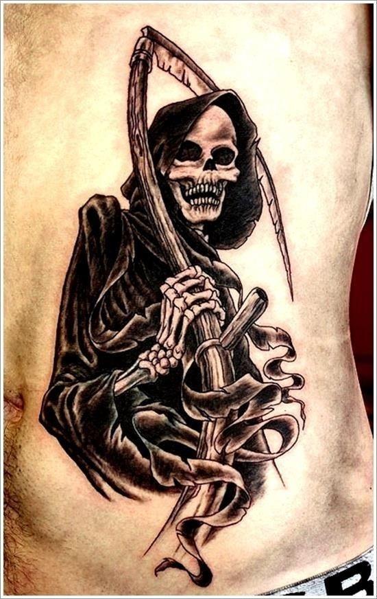 Grim Reaper Tattoo Designs 19