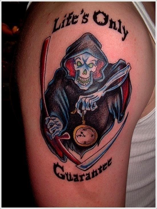 Grim Reaper Tattoo Designs 2