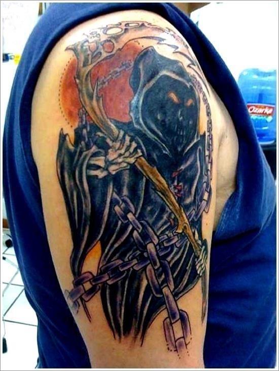 Grim Reaper Tattoo Designs 26