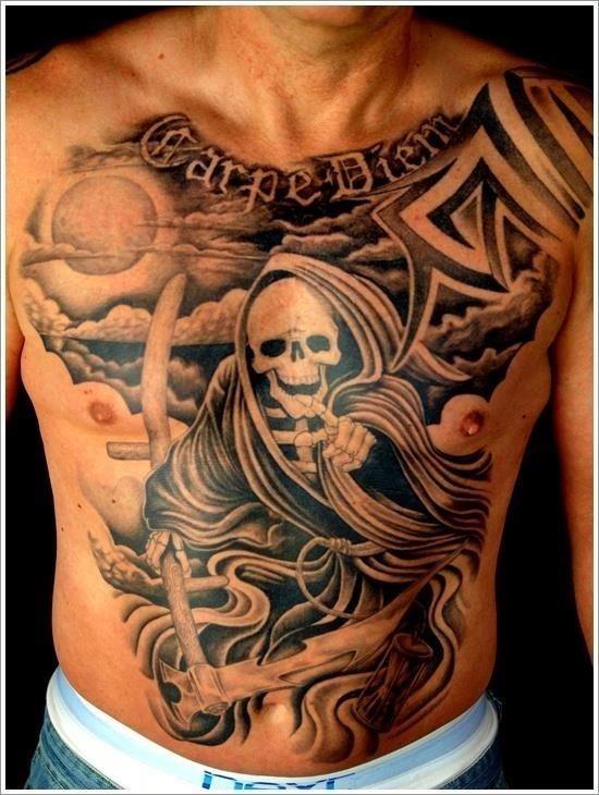 Grim Reaper Tattoo Designs 28