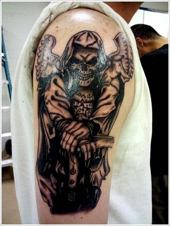 Grim Reaper Tattoo Designs 3