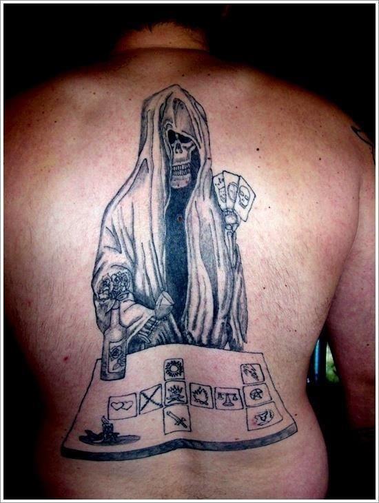 Grim Reaper Tattoo Designs 30