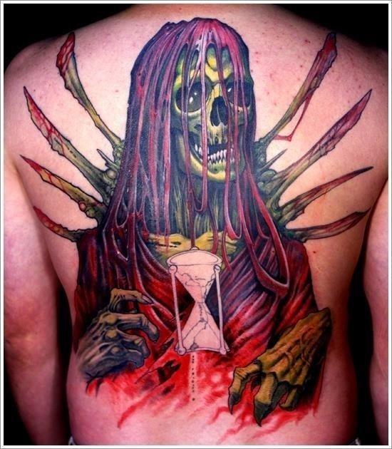 Grim Reaper Tattoo Designs 32