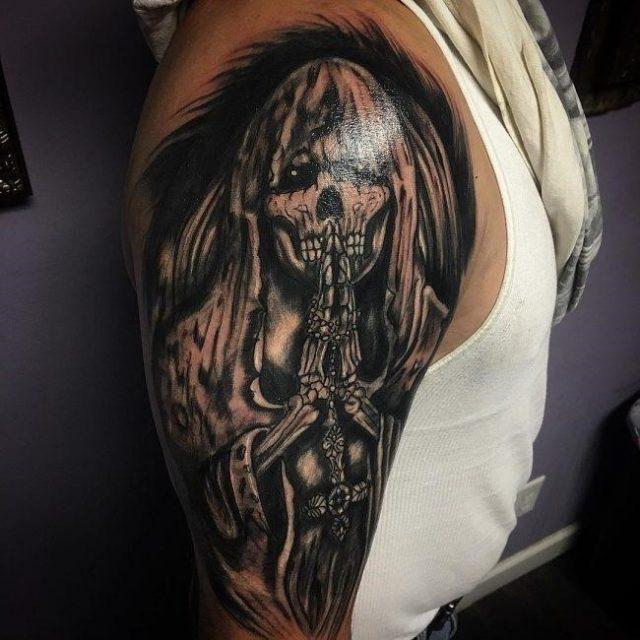 Grim Reaper Tattoo  17 1 650×650