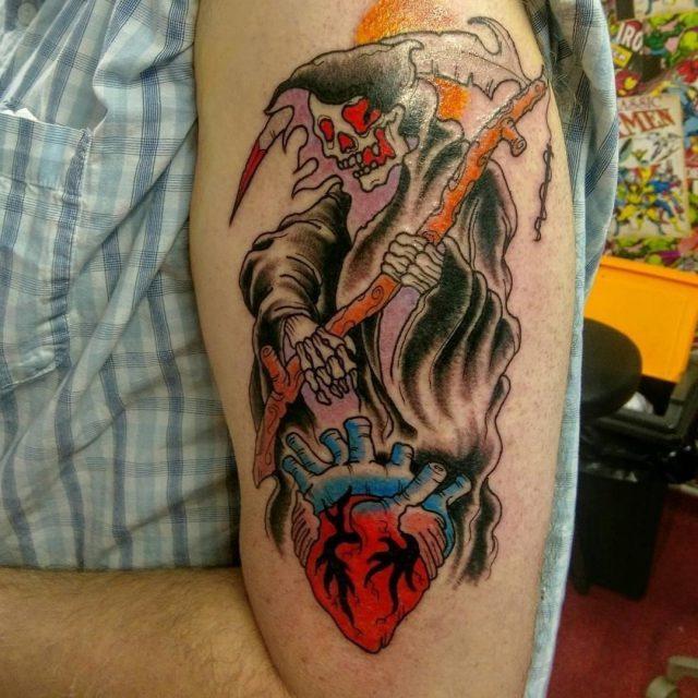 Grim Reaper Tattoo  18 1
