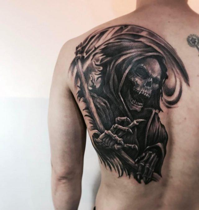 Grim Reaper Tattoo  33