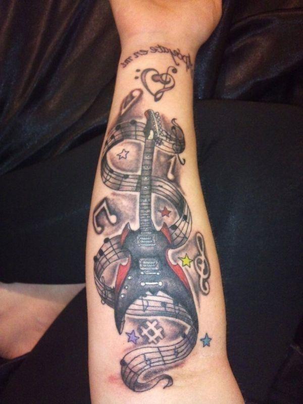 Guitar Tattoo TD2420