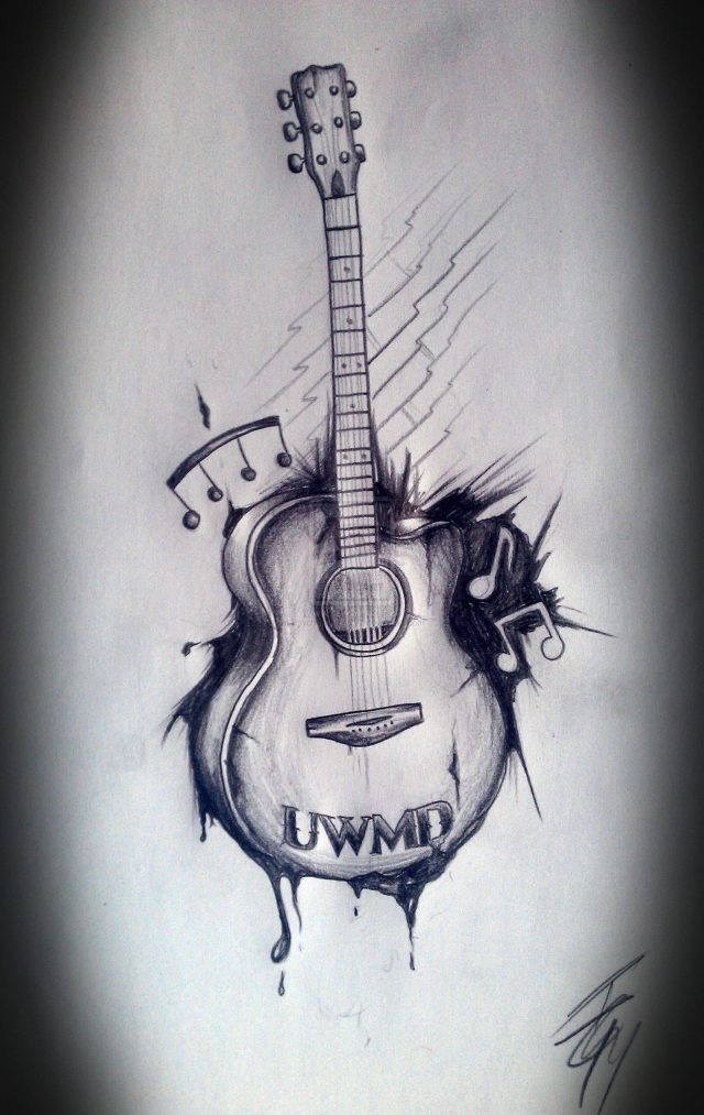 Guitar Tattoos 3