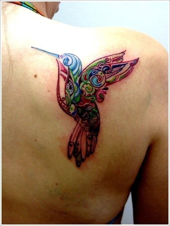 HUMMINGBIRD TATTOO DESIGNS 5