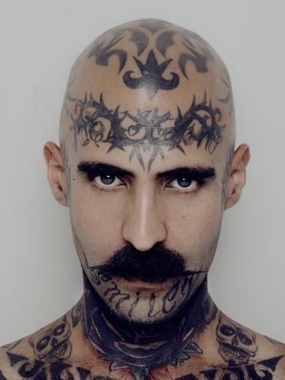 Hair Tattoo 8