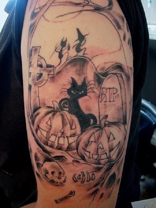 Halloween Tattoo Design 15