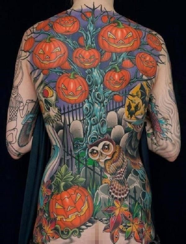 Halloween Tattoo Design 43