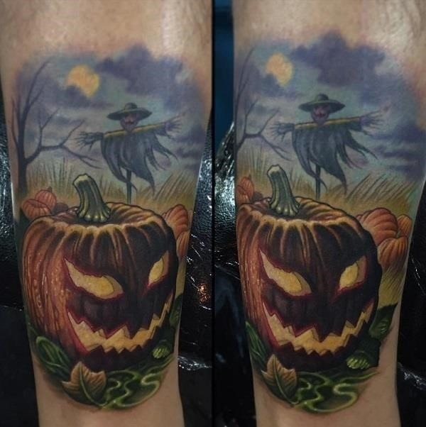 Halloween Tattoo Design 48