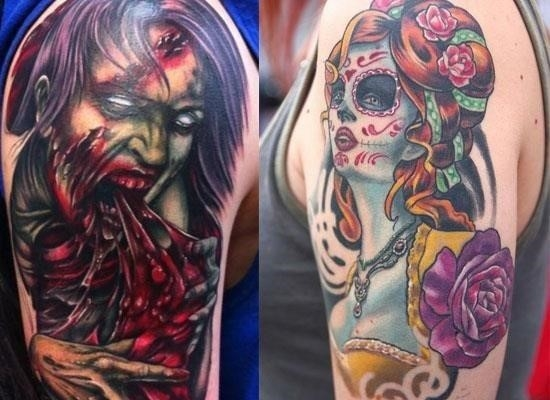 Halloween Tattoo Designs 17