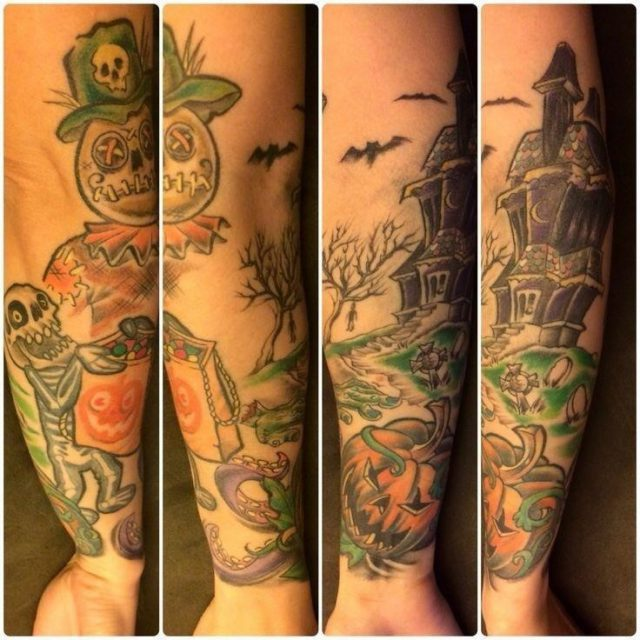 Halloween Tattoo Designs 24