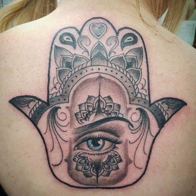 Hamsa Tattoo 63 650×650