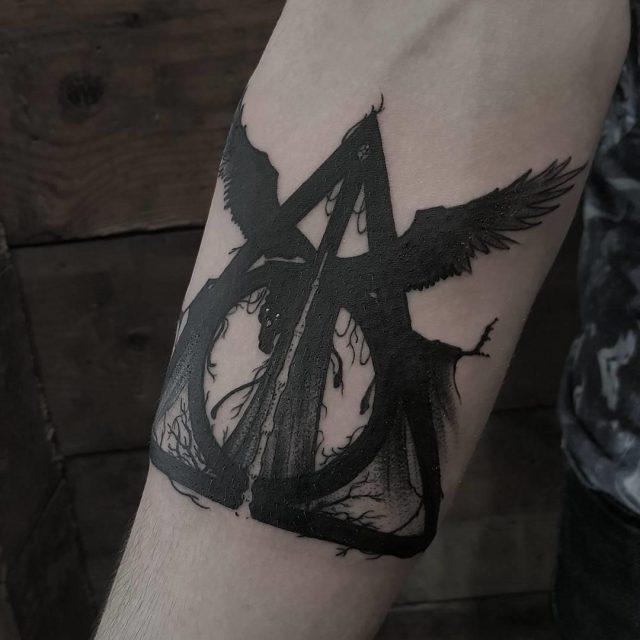 Harry Potter Tattoo  1