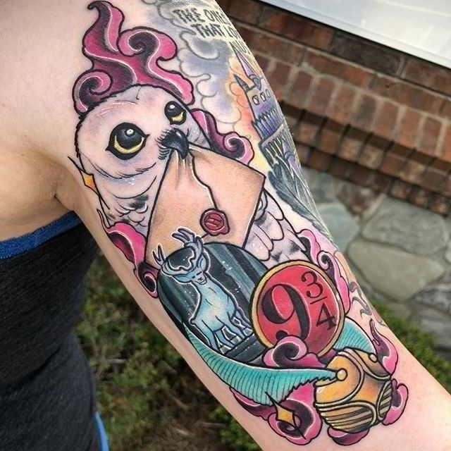Harry Potter Tattoos 2