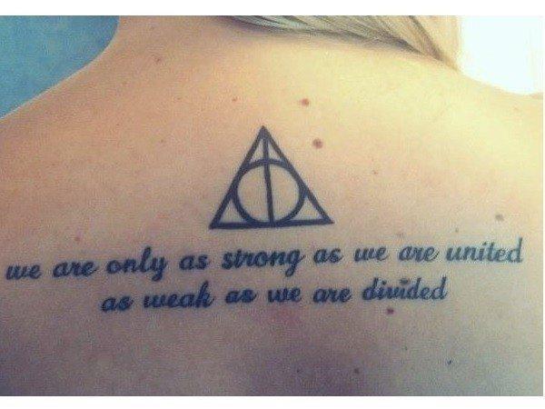Harry Potter Tattoos 5