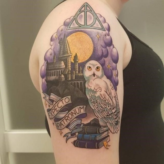 Harry Potter tattoos 5 650×650