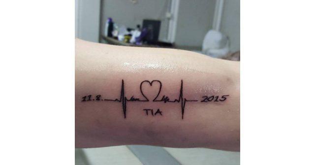 Heartbeat Name Birthday