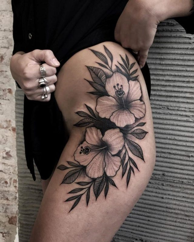 Hibiscus Flower Tattoo 67 765×956