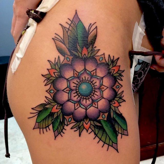 Hip Tattoo  23