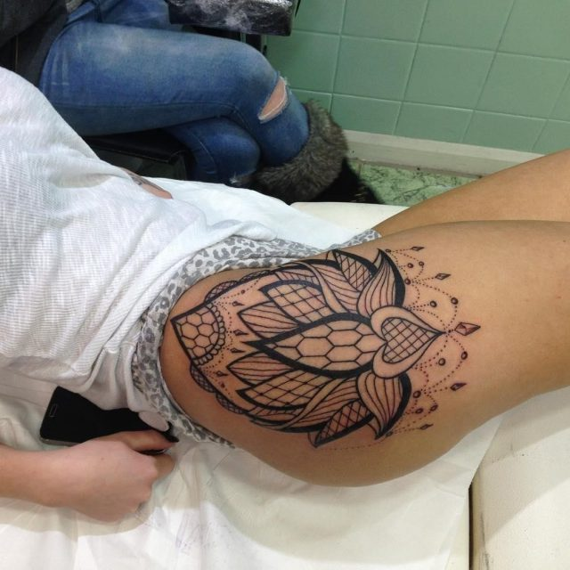 Hip Tattoo  28