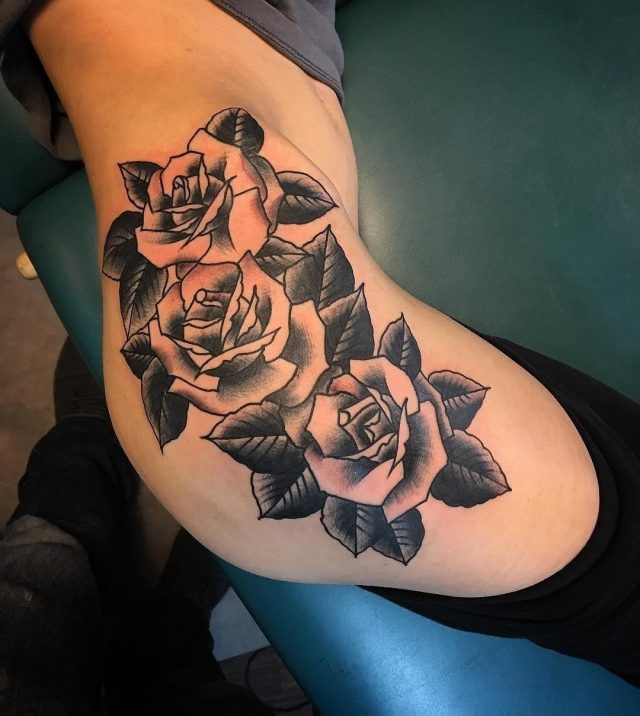 Hip Tattoo  41