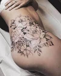 Hip Tattoos 2