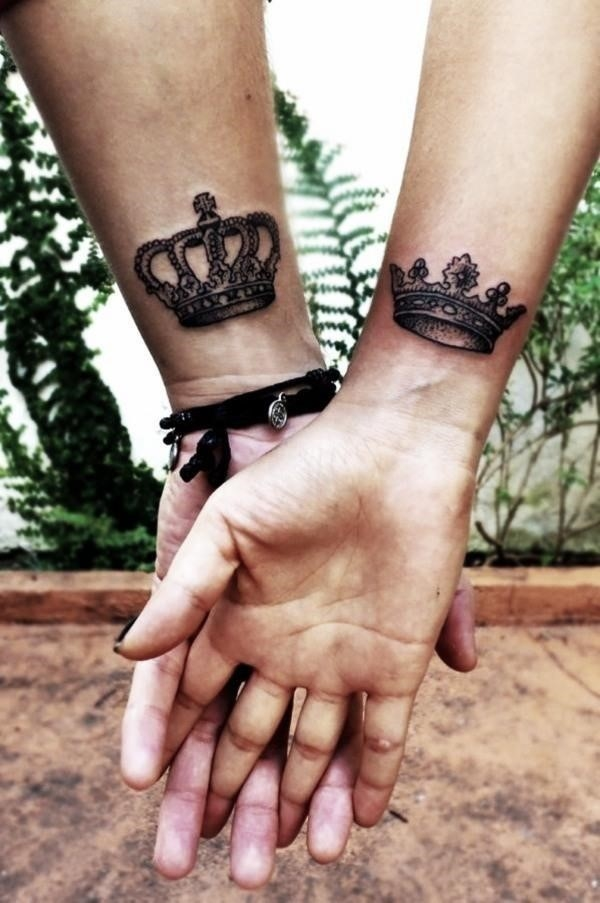 His and Hers Matching Tattoos For Couples6