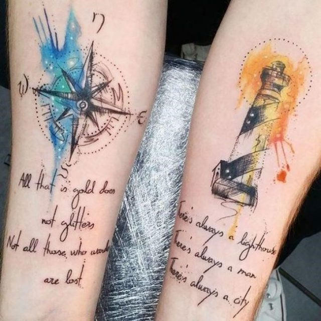 His and Hers Tattoos 106 650×650