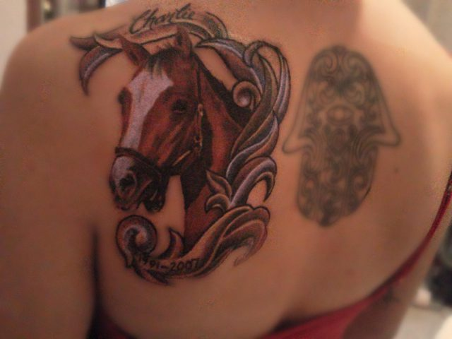 Horse Head Tattoo Designs