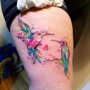 Hummingbird Tattoo Ideas by Kym Munster 305×305