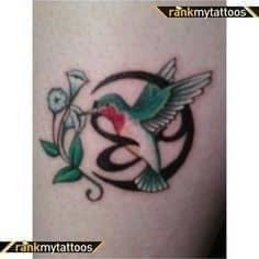 Hummingbird Tattoo Meaning 39
