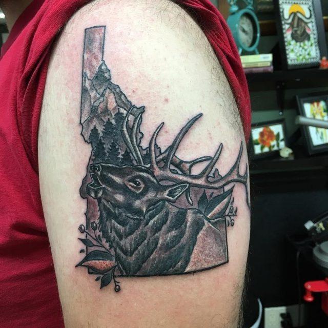 Hunting Tattoo  13