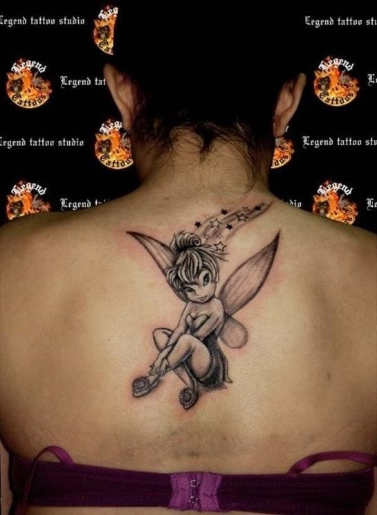 Images of Tinkerbell Tattoos