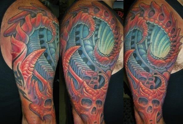 Insane mechanics tattoo Designs 2