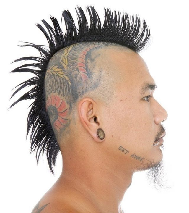 Intricate Hair Tattoo Designs