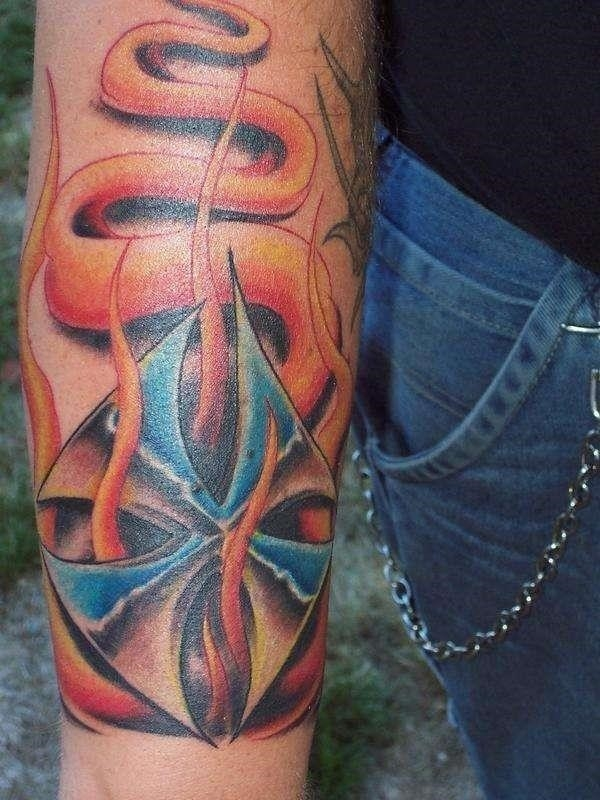 Iron Cross Tattoos 9