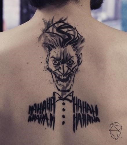 Joker Tattoo 06292016 439×500