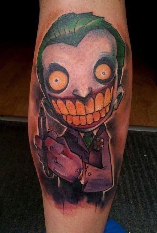 Joker Tattoo 10