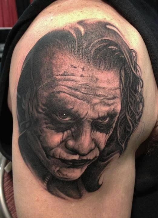 Joker Tattoos 1