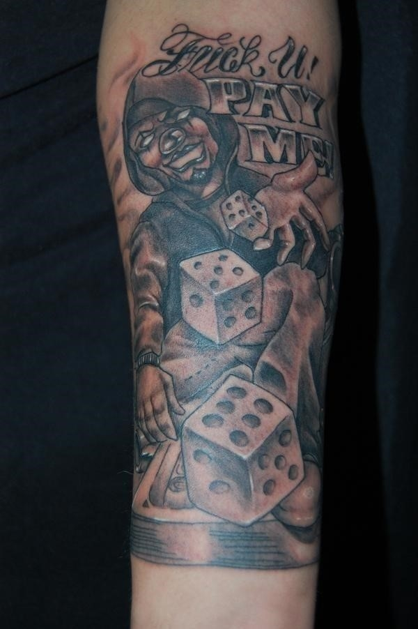 Joker Tattoos 13