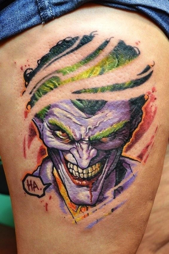 Joker Tattoos 4